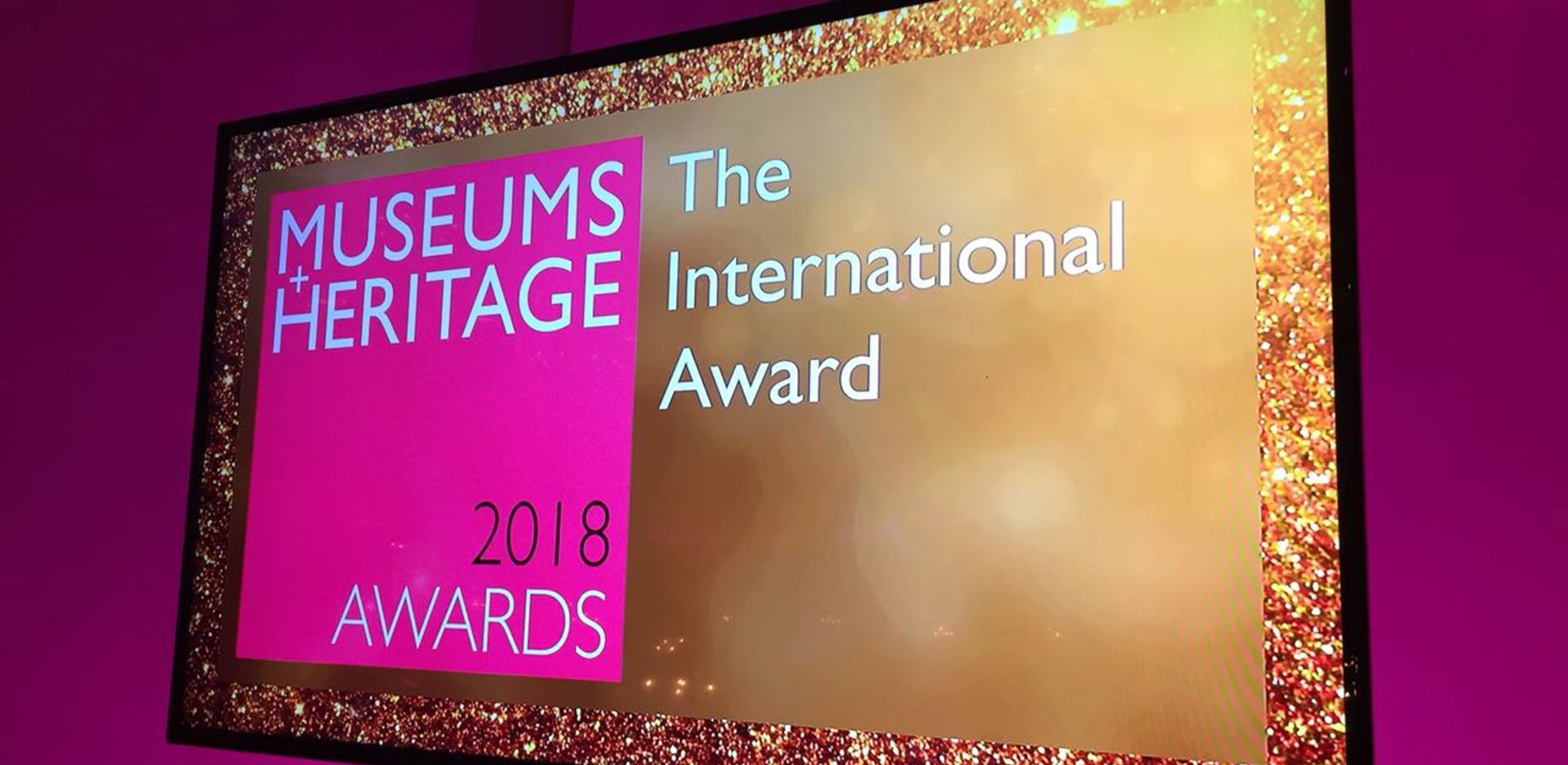 Museum and Heritage Awards 2018 am 16.05.2018 in London