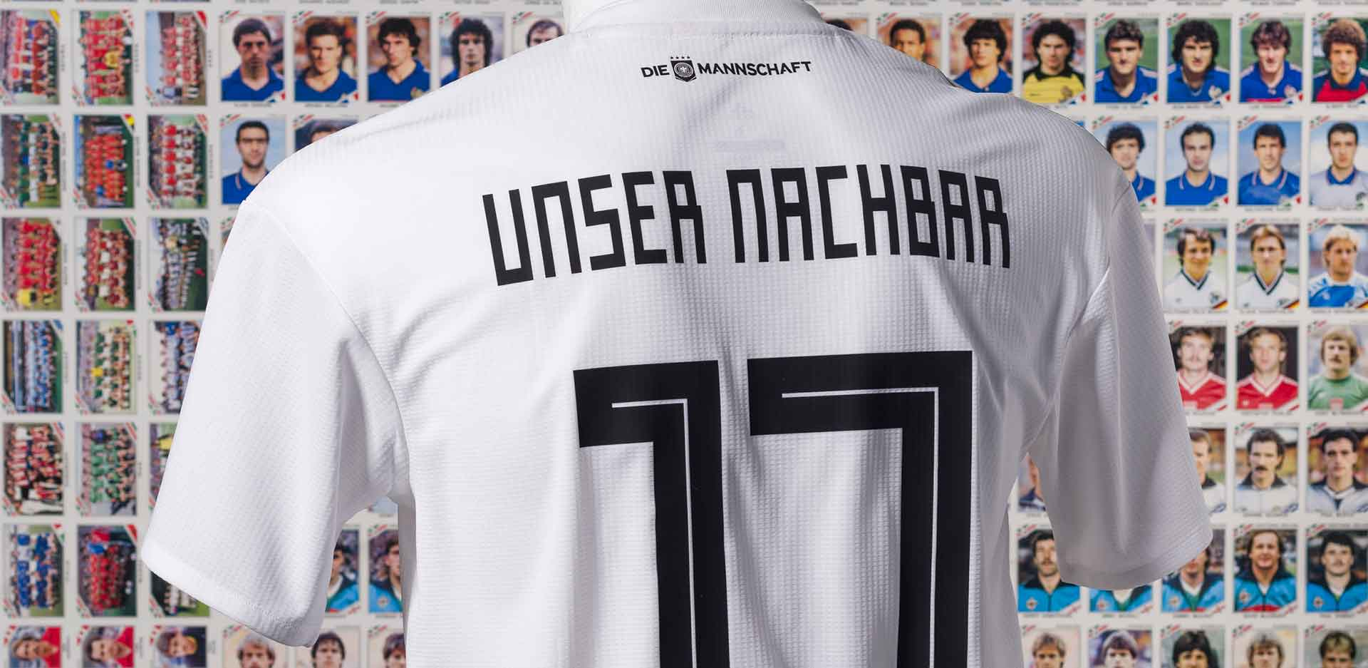 Football shirt of the German national football team, 2018