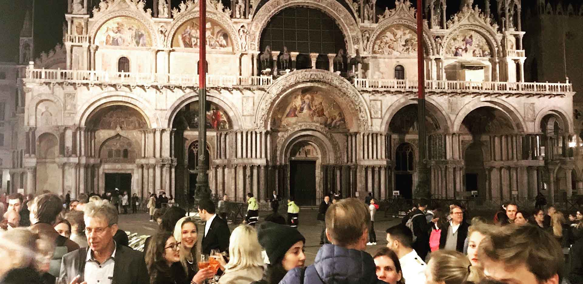 The names of the 2nd Jury were announced at a reception of the Nationalgalerie at the Piazza di San Marco in Venice.