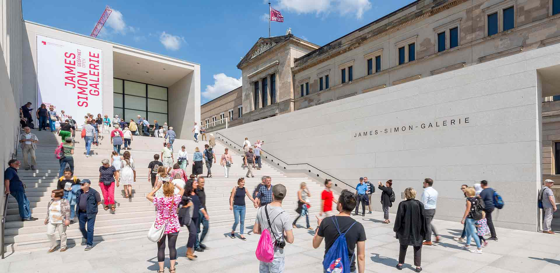 Activity Day for the Opening of the James-Simon Galerie on 13 July 2019