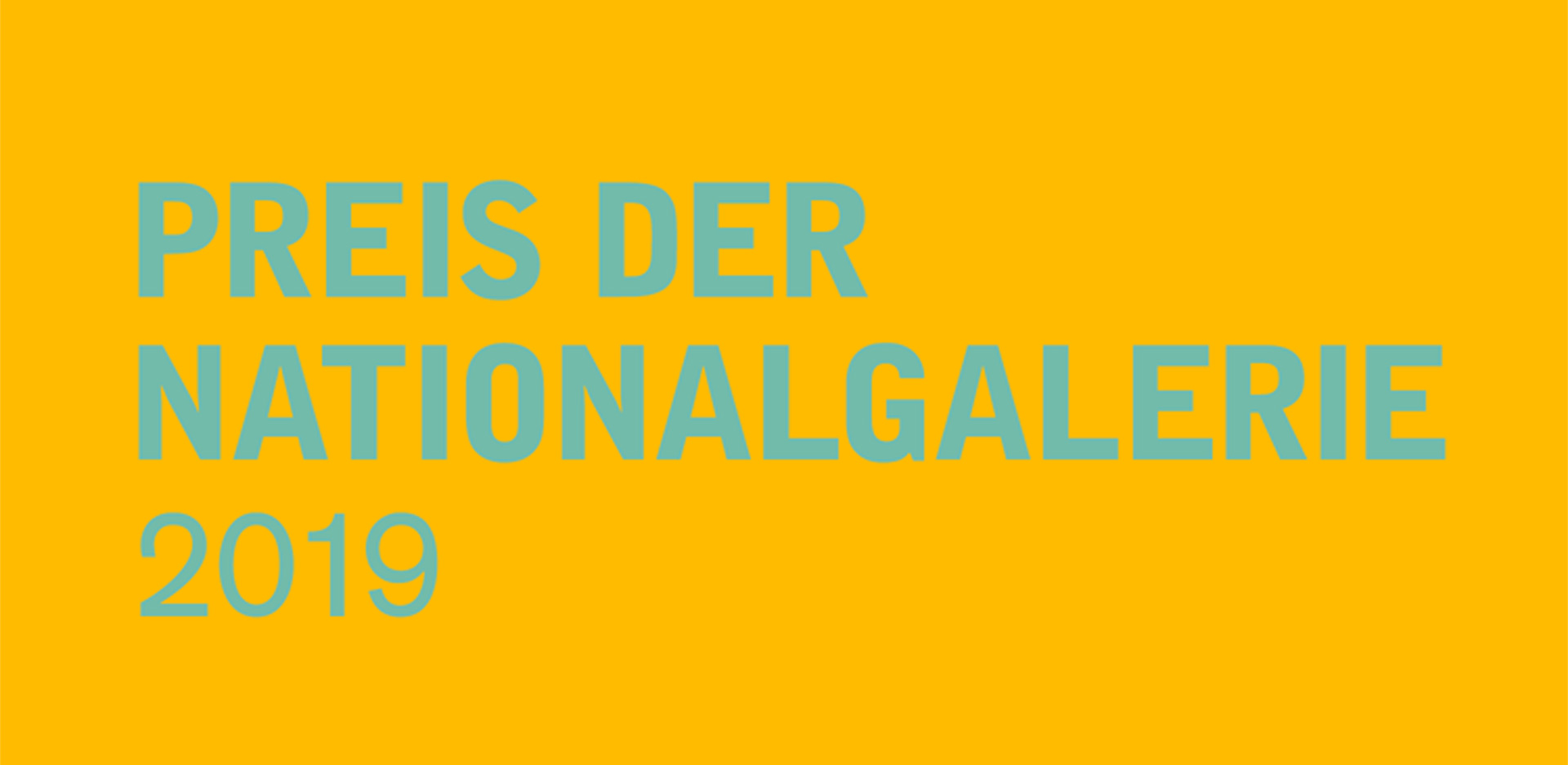 The award winner will be announced together with the winner of the Preis der Nationalgalerie 2019 on 12  September.