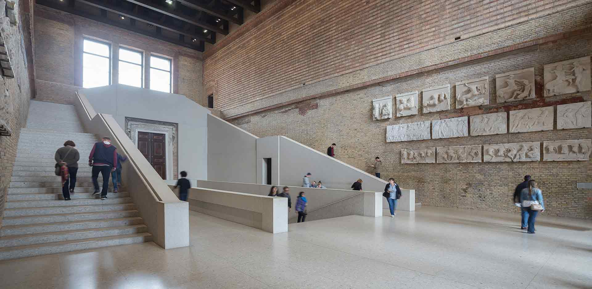 Staircase in the Neues Museum