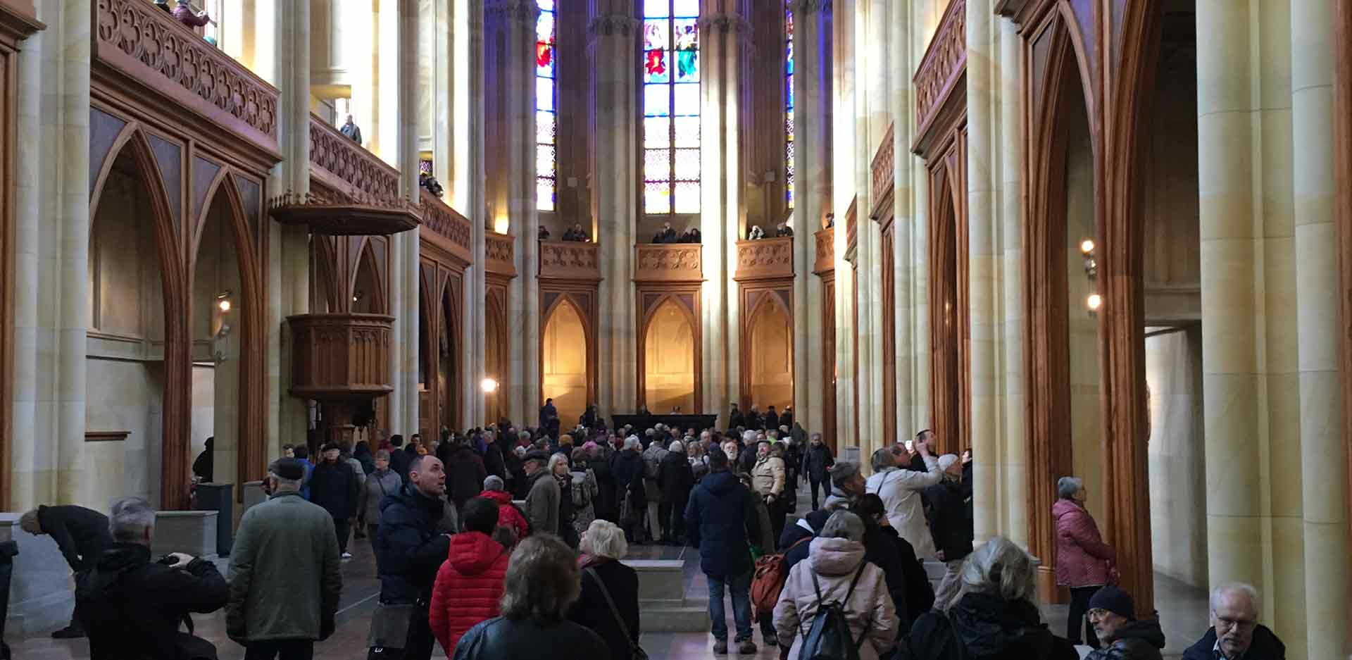 Open Weekend in the Friedrichswerdersche Kirche on 18 and 19 January 2020