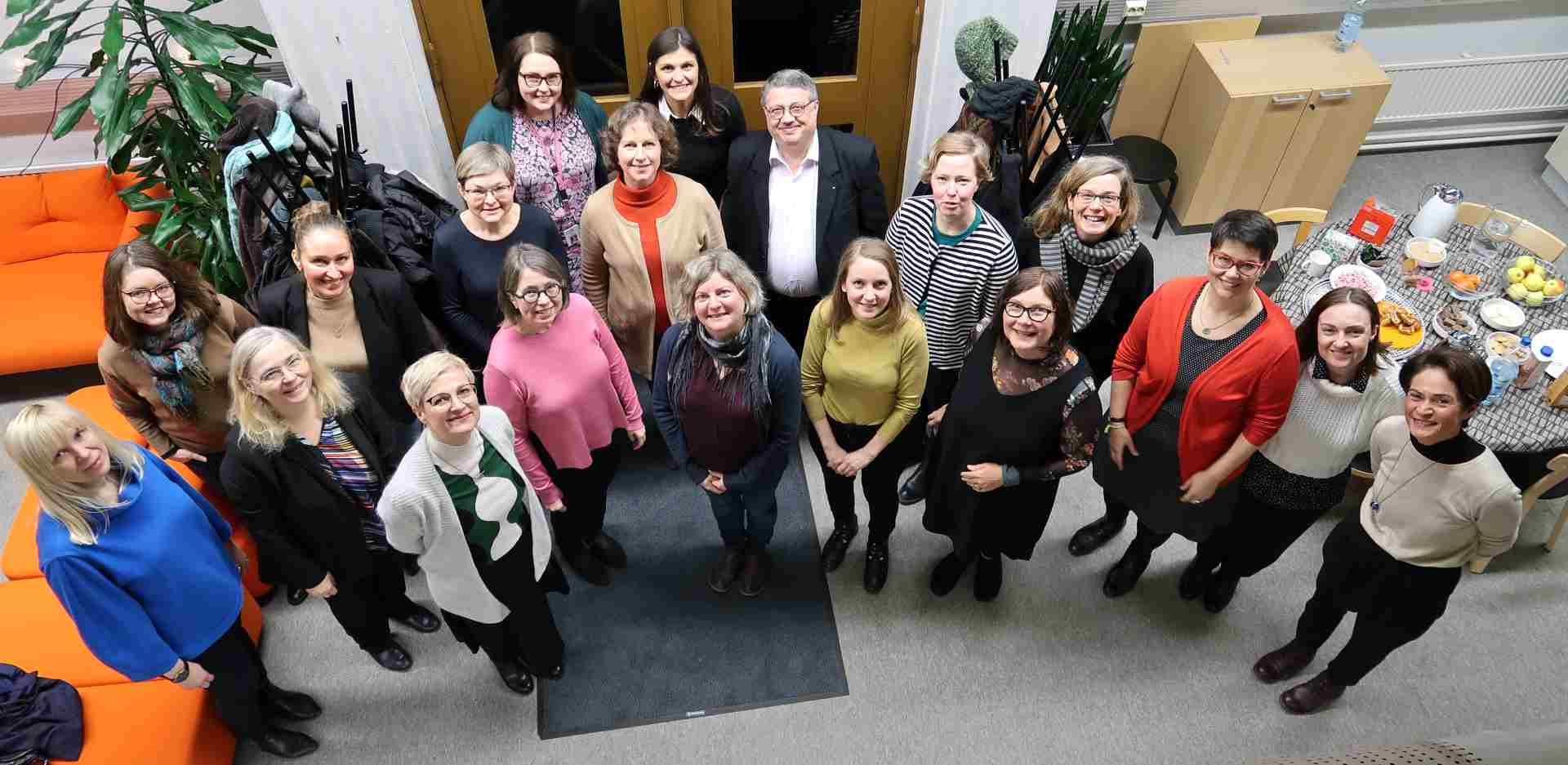 Group photo of the MOI kick-off meeting in Helsinki January 2019