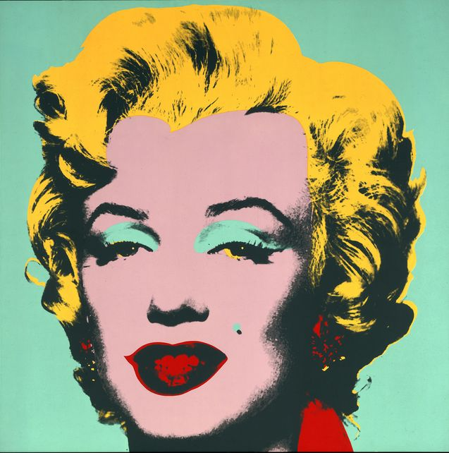 <strong>Andy Warhol</strong>, Marilyn, 1967, Farbsiebdruck aus dem 10-teiligen Portfolio, © 2020 The Andy Warhol Foundation for the Visual Arts, Inc. / Artists Rights Society (ARS), New York, Staatliche Museen zu Berlin, Kupferstichkabinett / Jörg P. Anders
