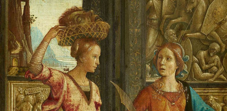 Domenico Ghirlandaio, Judith with her Maidservant, 1489