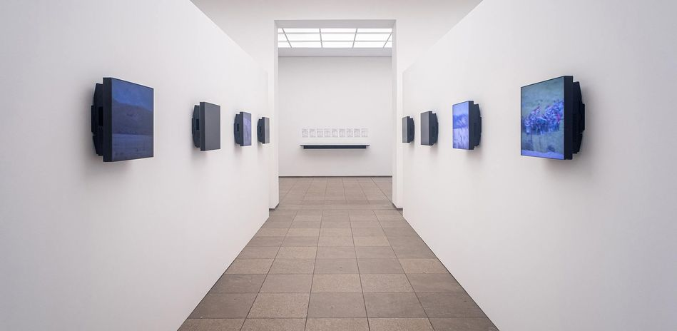 "Ausstellungsansicht: ""Lawrence Abu Hamdan. The Voice Before the Law"", Hamburger Bahnhof - Museum für Gegenwart - Berlin, 2019"