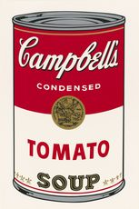 "<span style=""background-color: #ffffff;""><strong>Andy Warhol</strong>, Ohne Titel (Tomato Soup), aus: Campbell's Soup I, 1968, Blatt aus einer Serie von 10 Siebdrucken, © The Andy Warhol Foundation for the Visual Arts, Inc. / Licensed by Artists Rights Society (ARS), New York , Foto: © Staatliche Museen zu Berlin, Kupferstichkabinett / Dietmar Katz</span>"