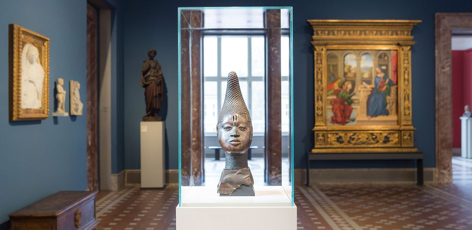 Exhibition view: Beyond Compare: Art from Africa in the Bode Museum