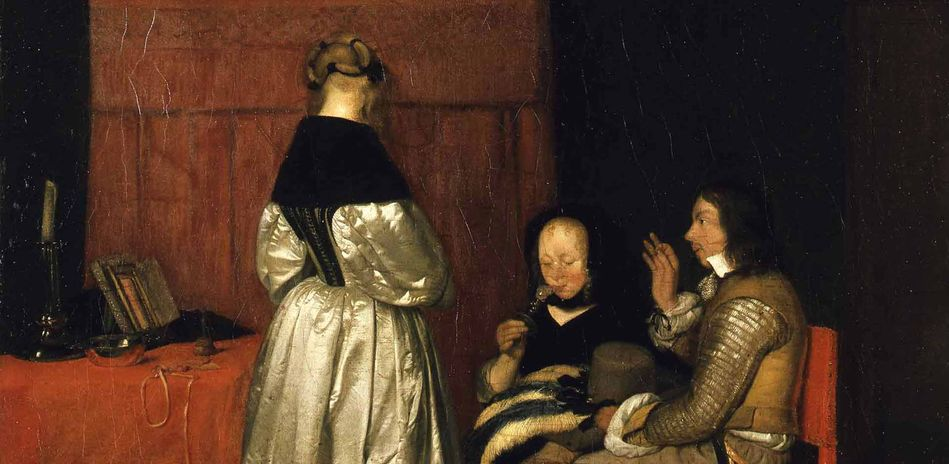 Gerard ter Borch: Gallant Coversation