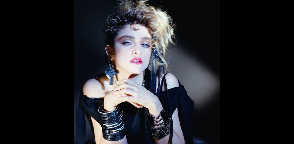 George Holz, Madonna, Hollywood, 1983