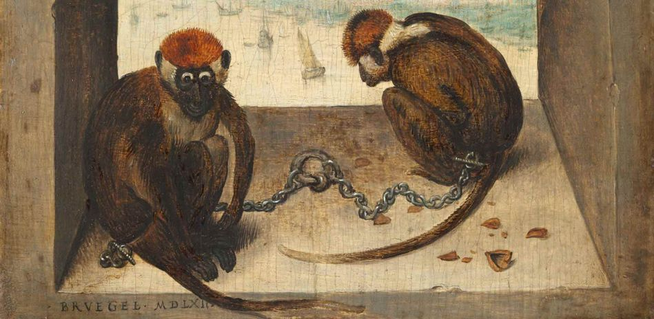 Pieter Bruegel the Elder, The Two Monkeys