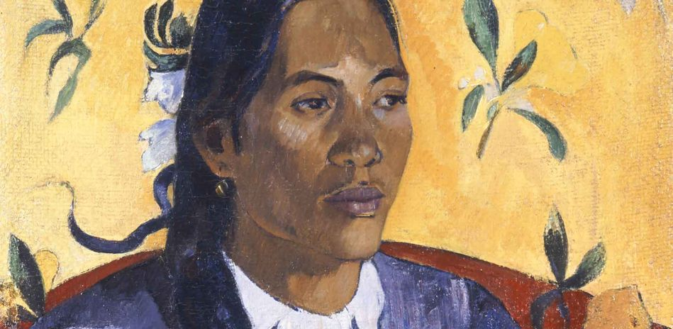 Paul Gauguin (1848-1903), Vahine no te Tiare. The Woman with the Flower, Detail, 1891