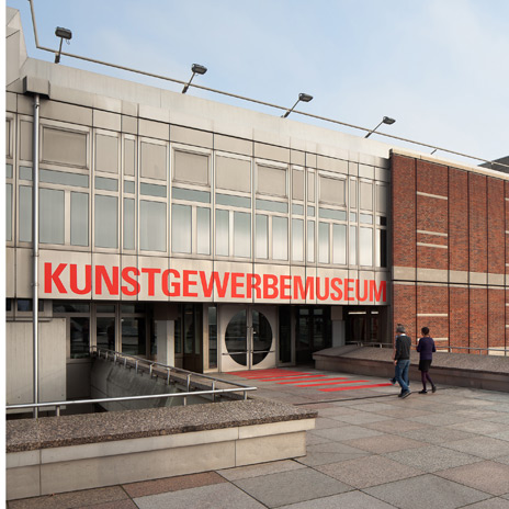 The image shows: Kunstgewerbemuseum