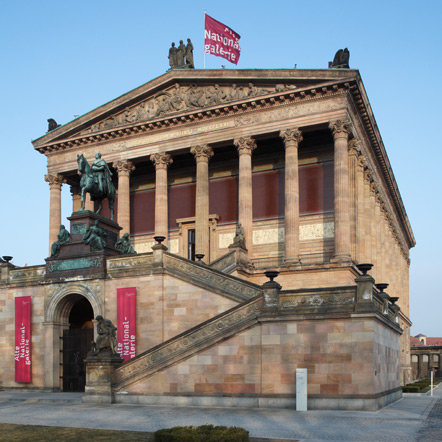 The image shows: Alte Nationalgalerie