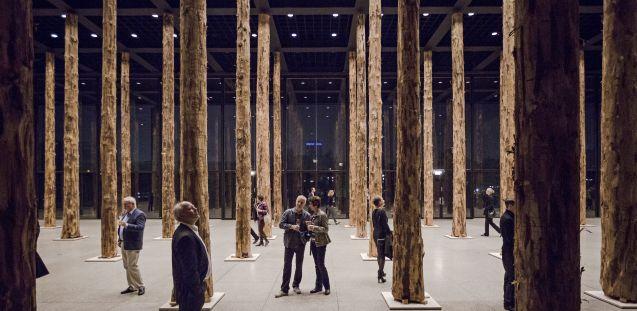 smb exhibition david chipperfield sticks and stones staatliche museen zu berlin. Black Bedroom Furniture Sets. Home Design Ideas