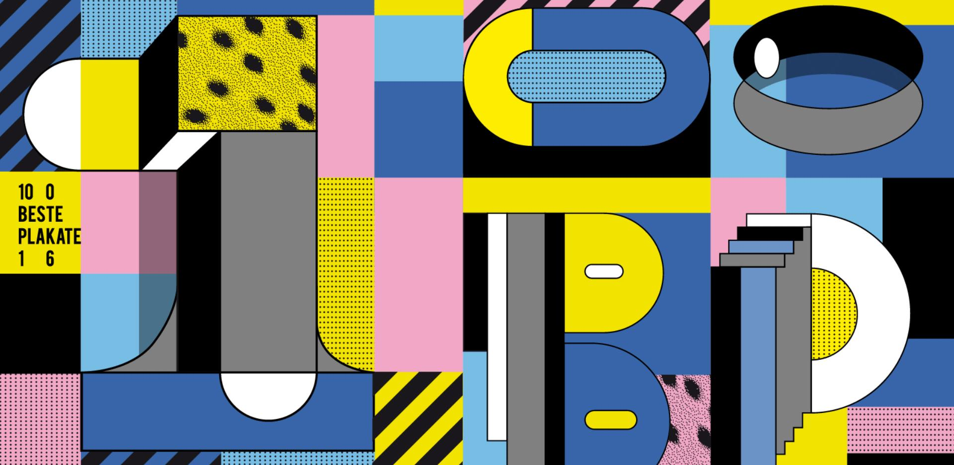 100 best posters 16 germany austria switzerland verein 100 beste plakate e v. Black Bedroom Furniture Sets. Home Design Ideas