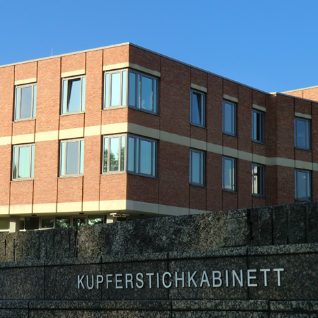 The image shows: Kupferstichkabinett