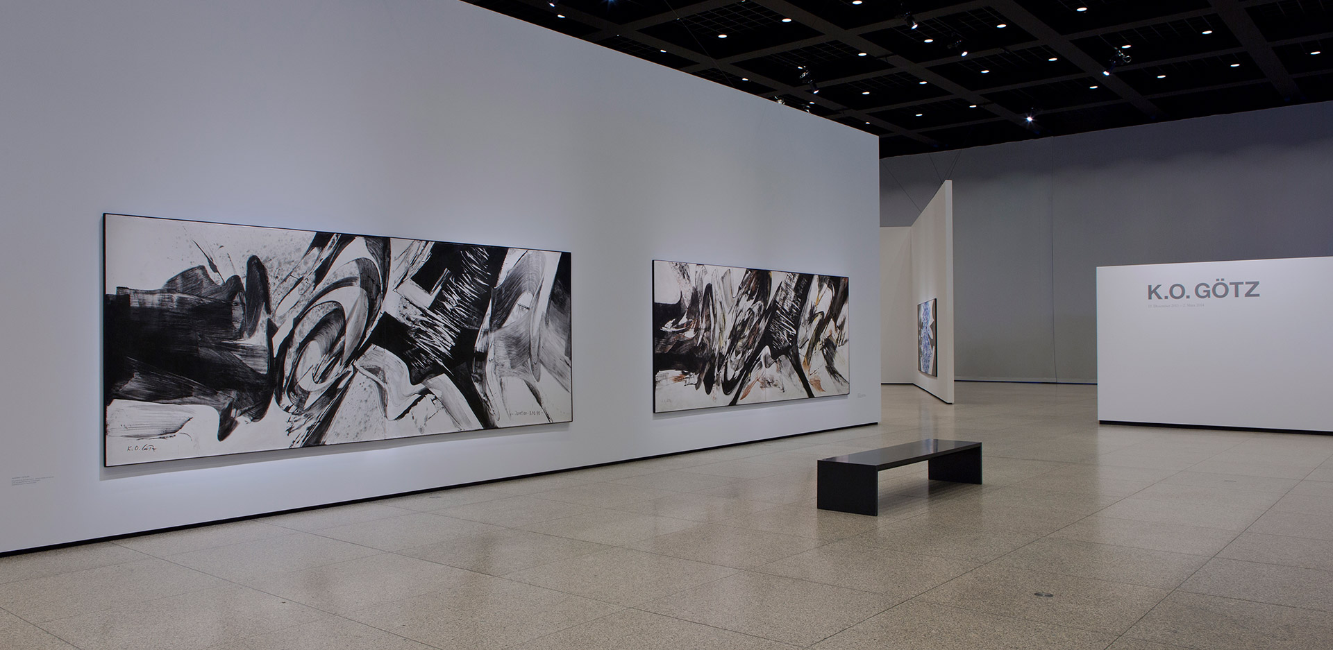 On view is: Exhibition view of the retrospective at the Neue Nationalgalerie 2013/2014