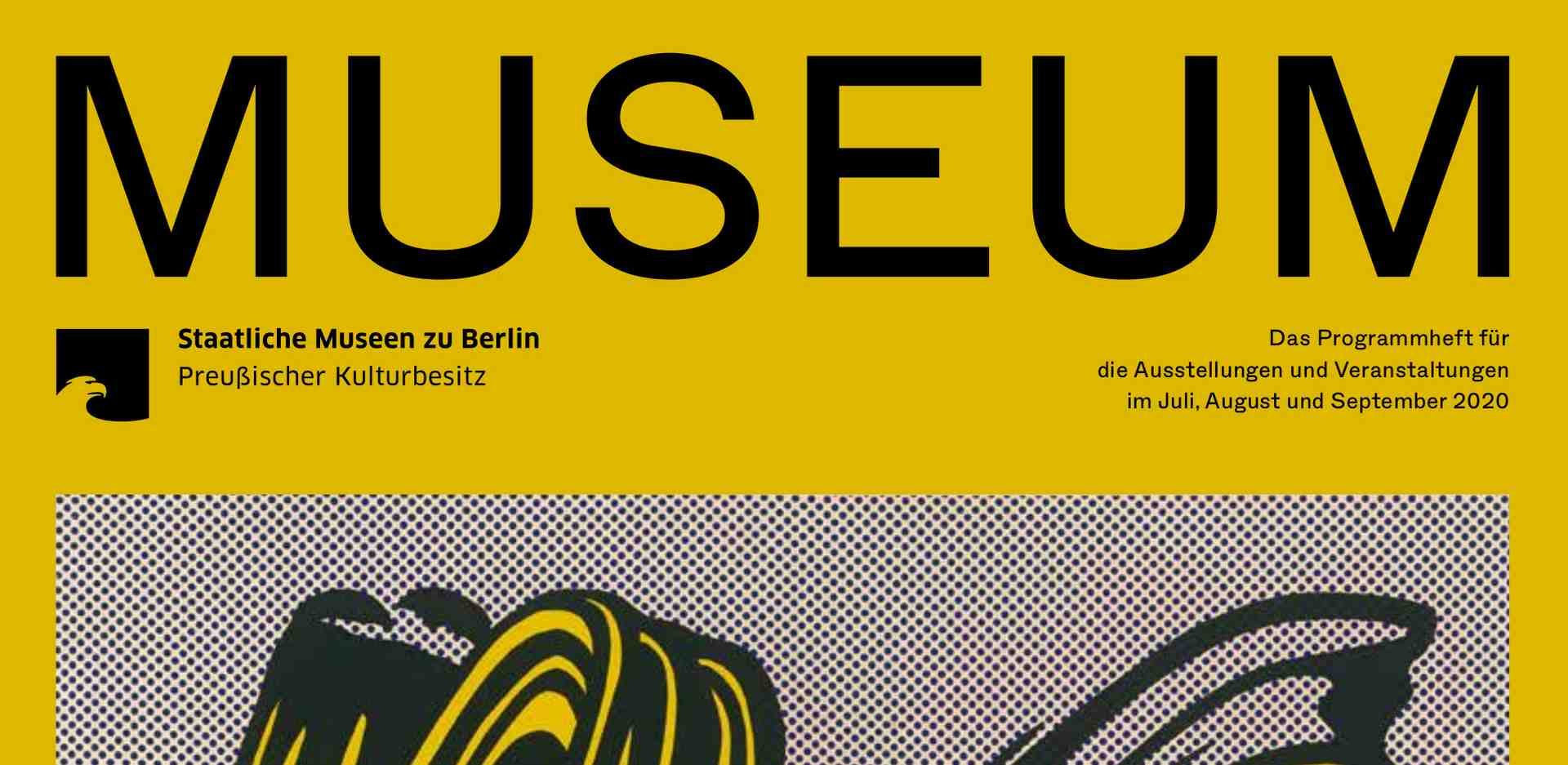 MUSEUM III 2020 – The program of the Staatlichen Museen zu Berlin is out now!