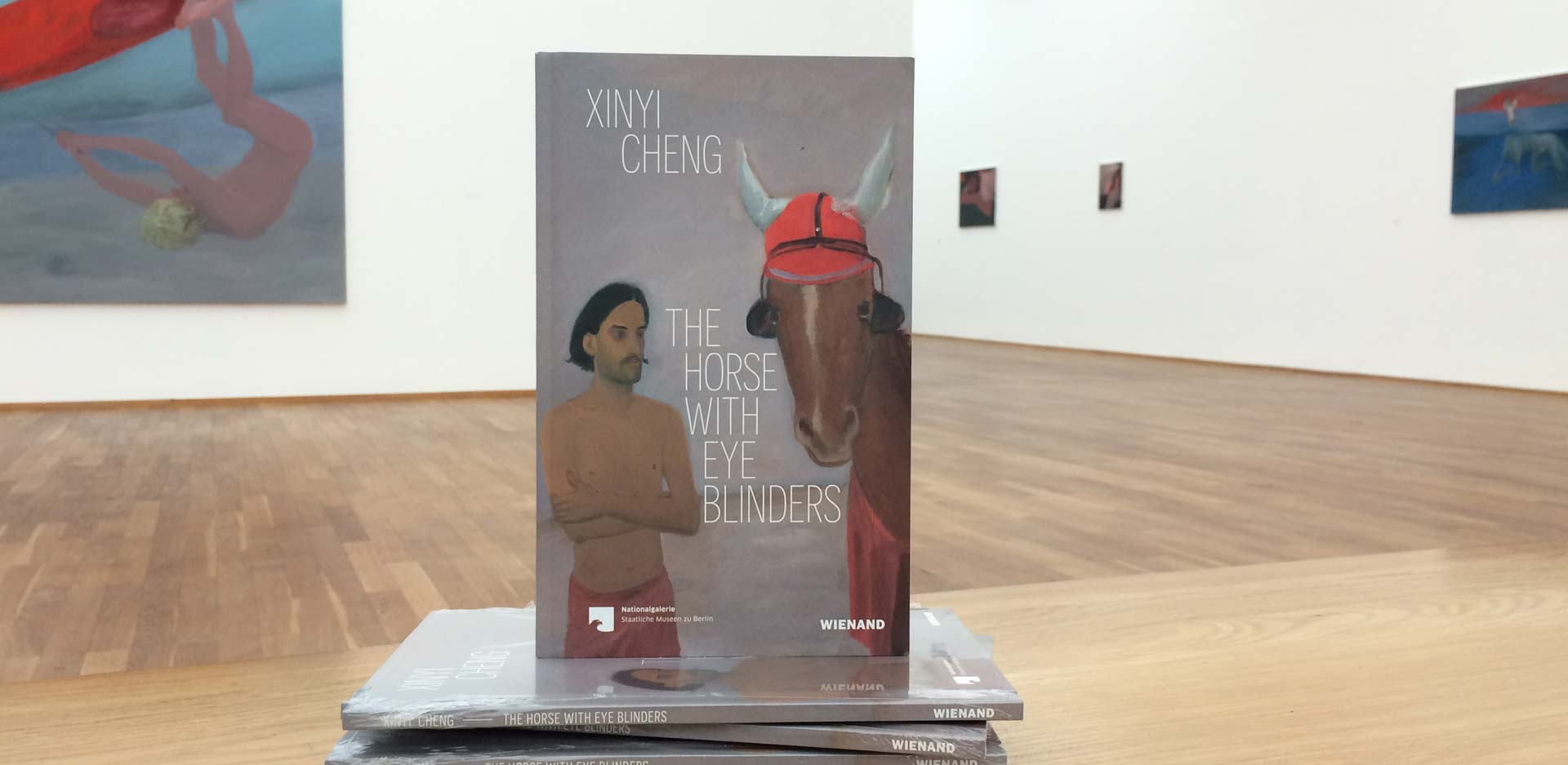 "Exhibition catalogue for ""Xinyi Cheng. The Horse with Eye Blinders'"