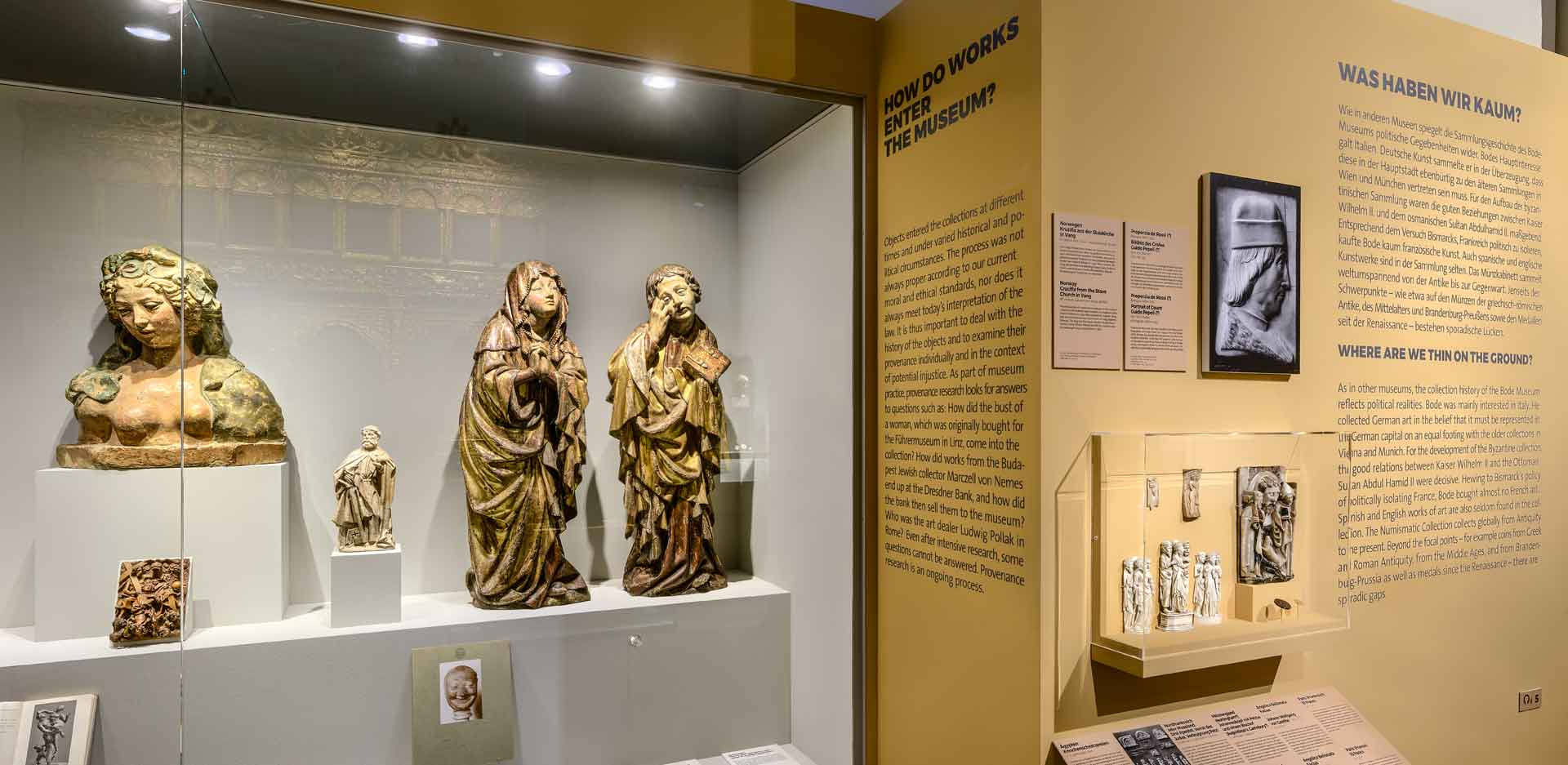 Virtual Tour of the Special Exhibition Plain Talk: About the History of the Bode-Museum