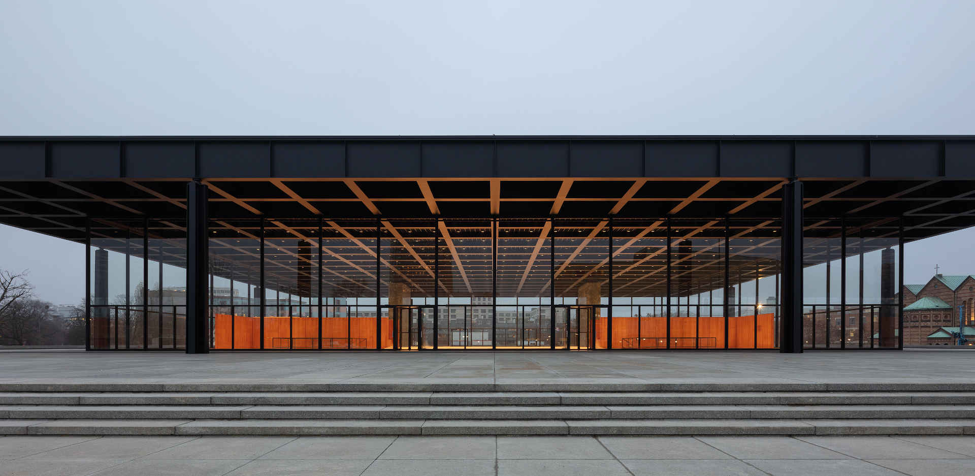 The keys to the Neue Nationalgalerie will be handed over on 29 April 2021