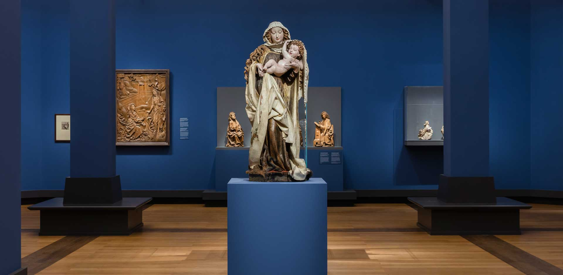 Late Gothic. The Birth of Modernity, Exhibition view, Gemäldegalerie 2021