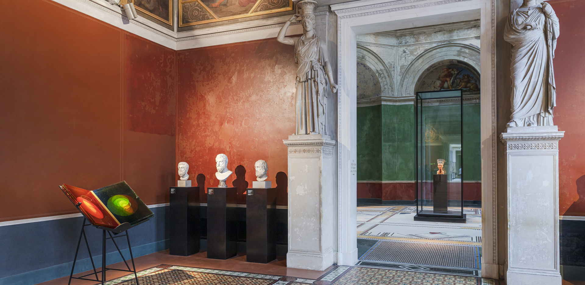 Ólafur Elíasson, A View Becomes A Window, Installation view Neues Museum, Berlin 2021